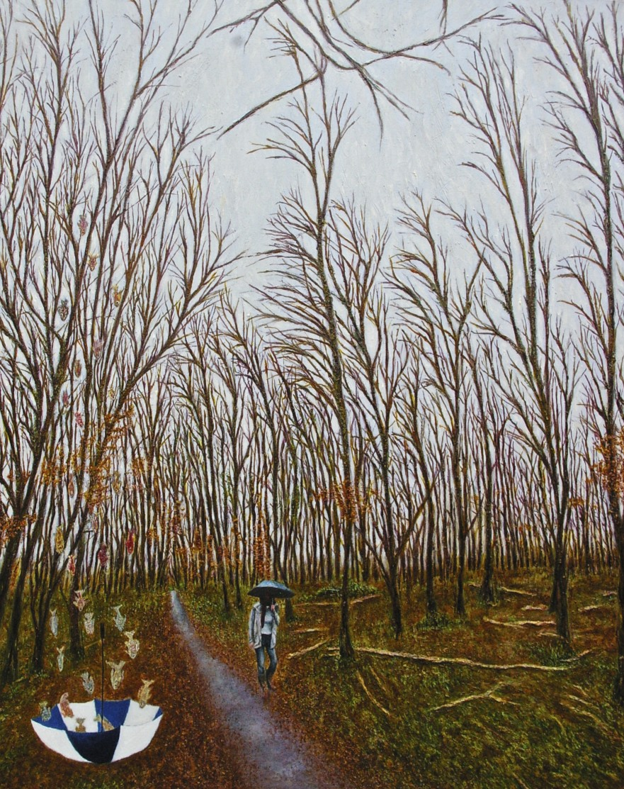 autumn-stroll-oil-and-beeswax-on-canvas-100-x-80-cm