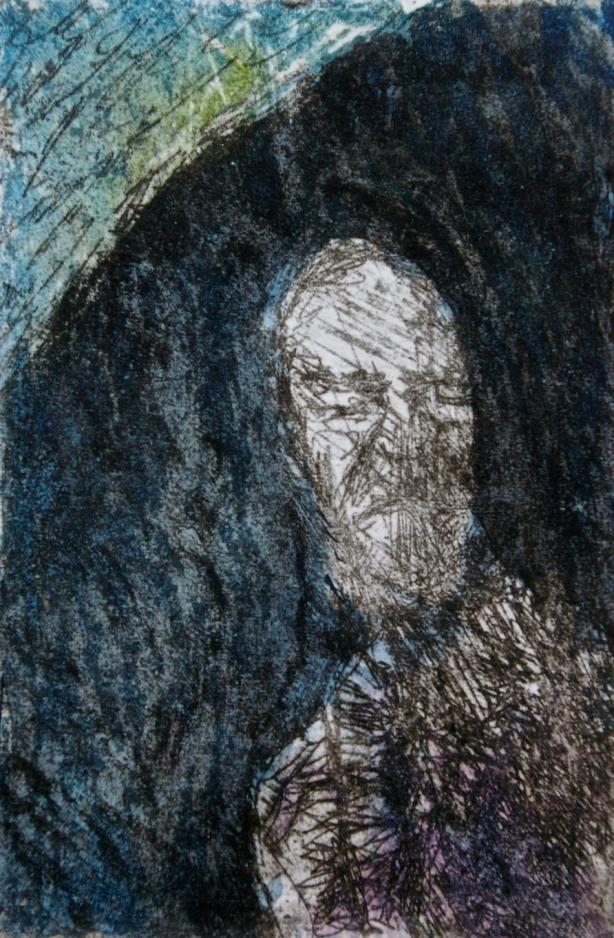 poet-etching-aquatint-carborundum-and-watercolor-12-x-8-cm