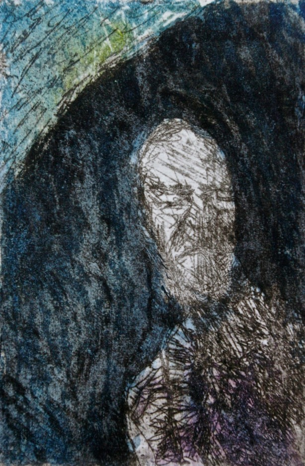 poet-etching-aquatint-carborundum-and-watercolor-12-x-8-cm