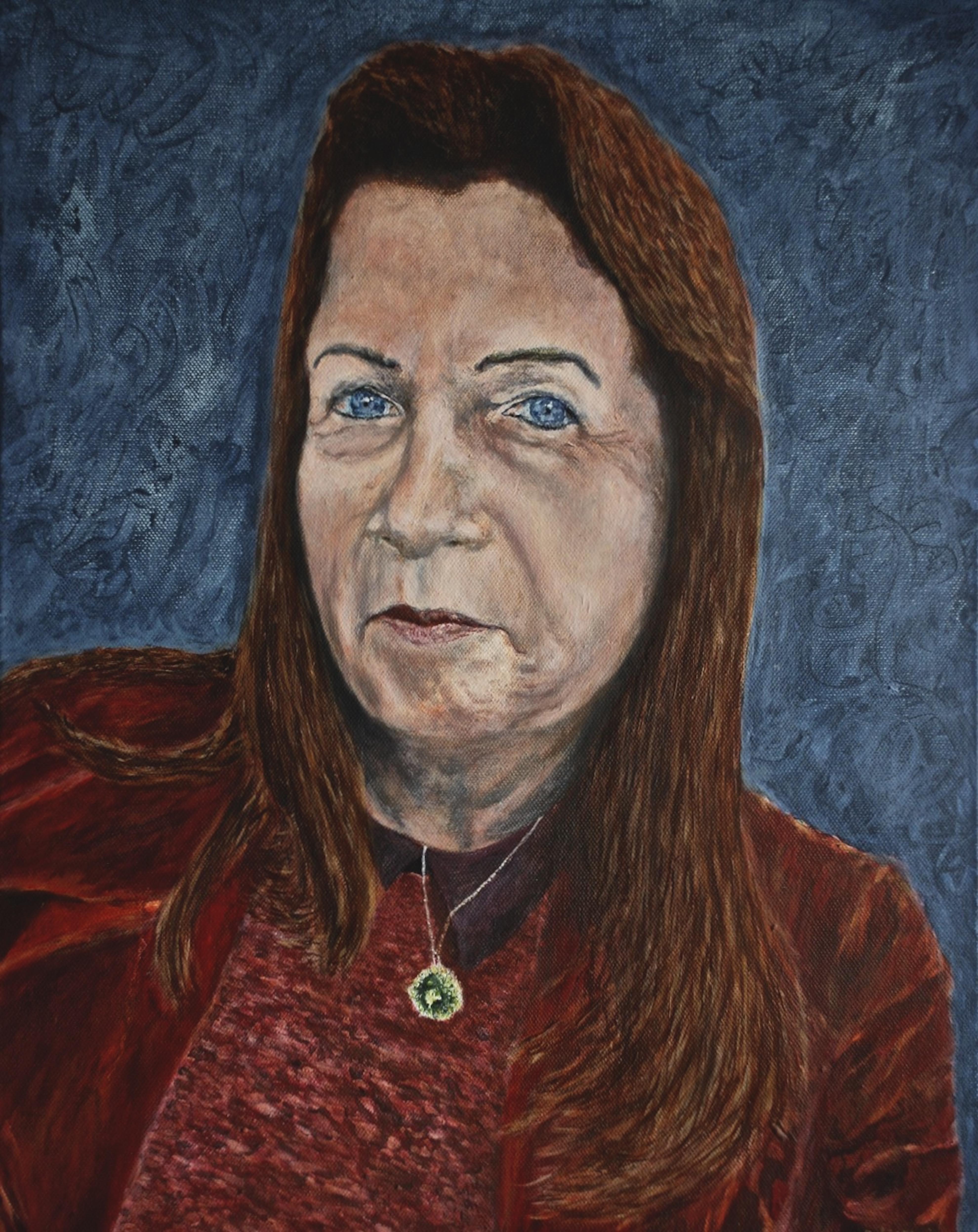 Dorit, oil on canvas, 50 x 40 cm