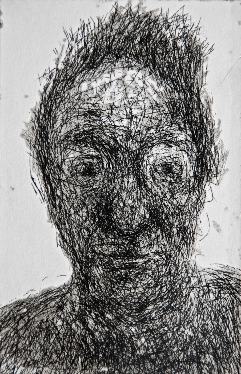 Mood 24, multi-states etching, 10.5 x 7 cm