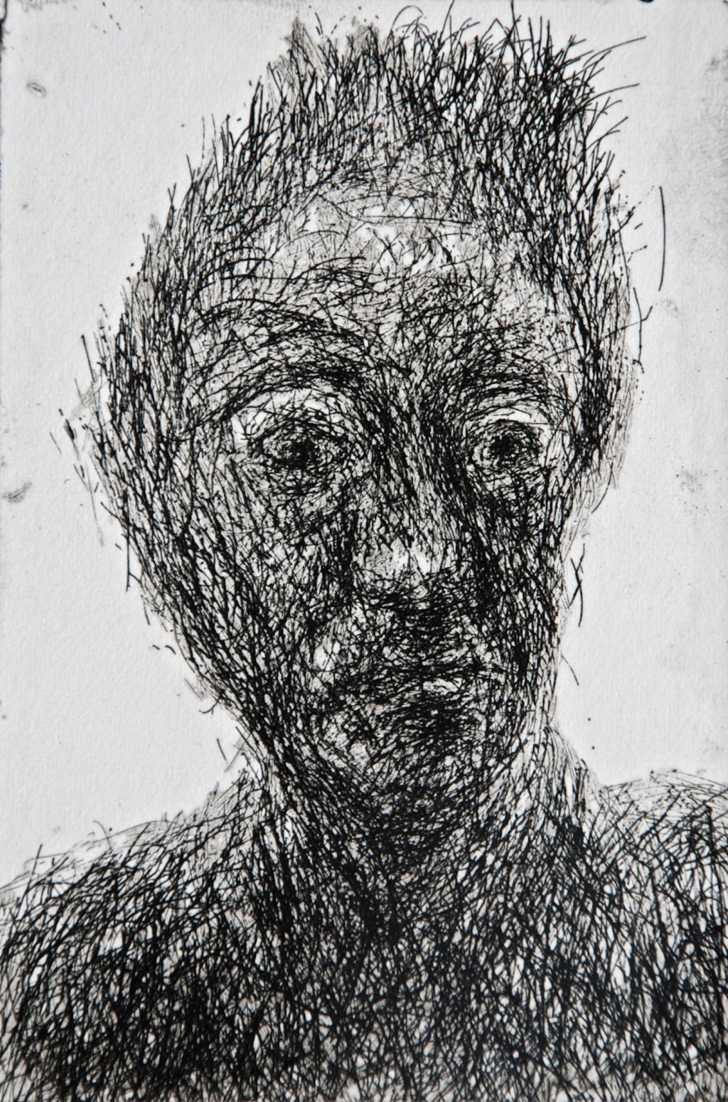 Mood 25, multi-states etching, 10.5 x 7 cm