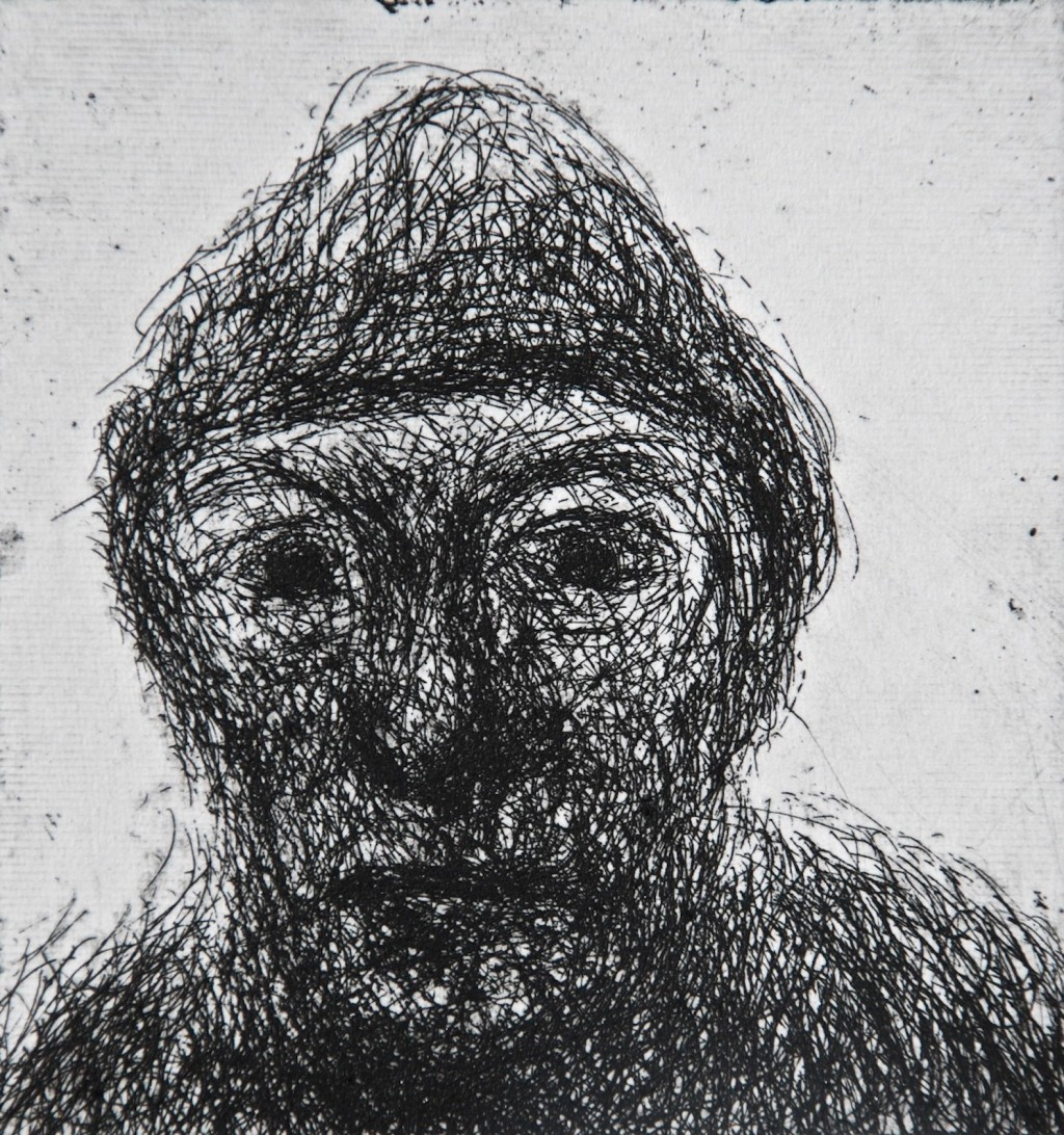 Mood 26, multi-states etching, 8.5 x 8 cm