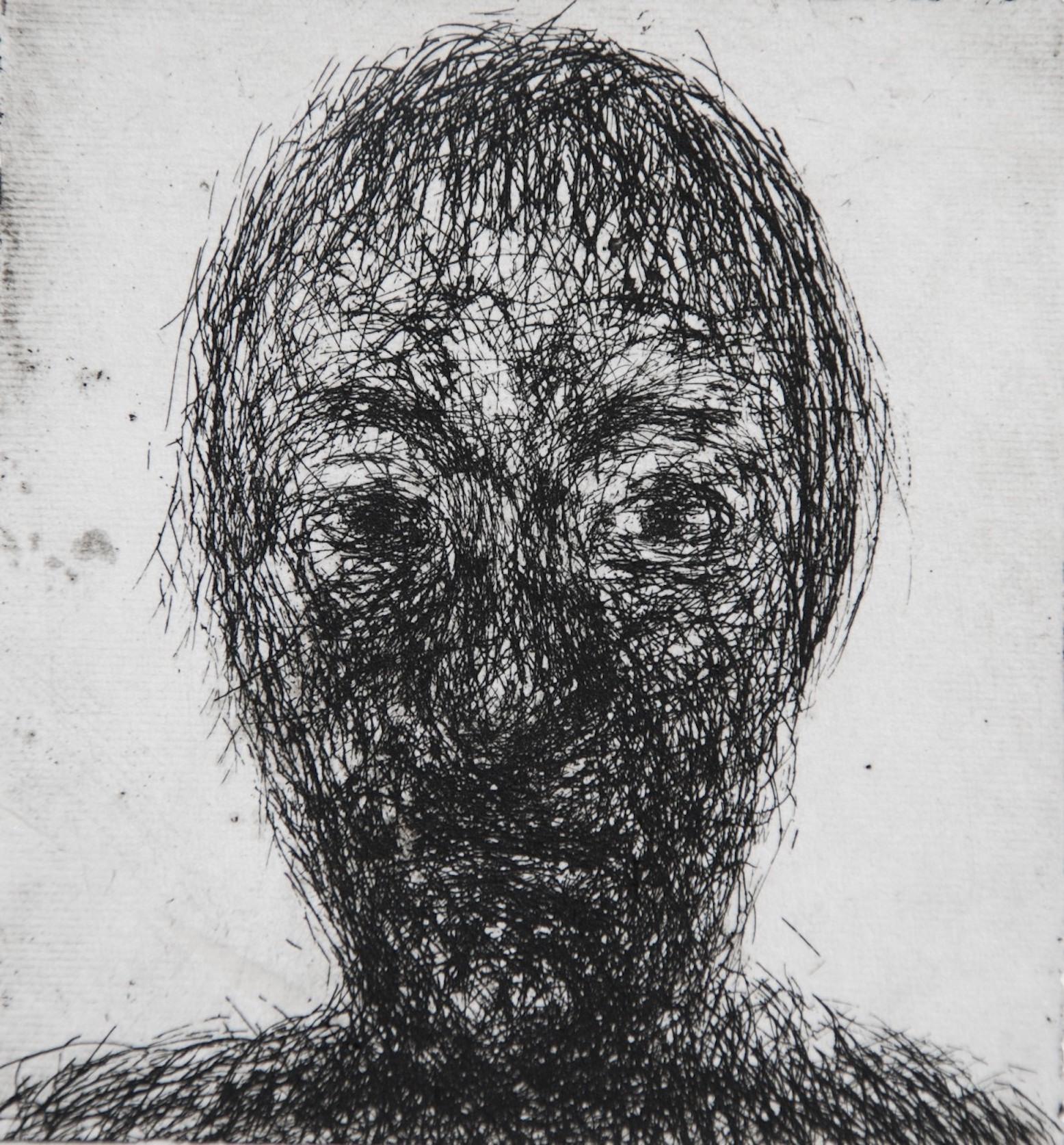 Mood 27, multi-states etching, 9 x 8 cm