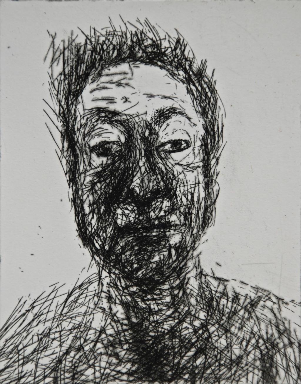 Mood 29, etching, 10 x 8 cm