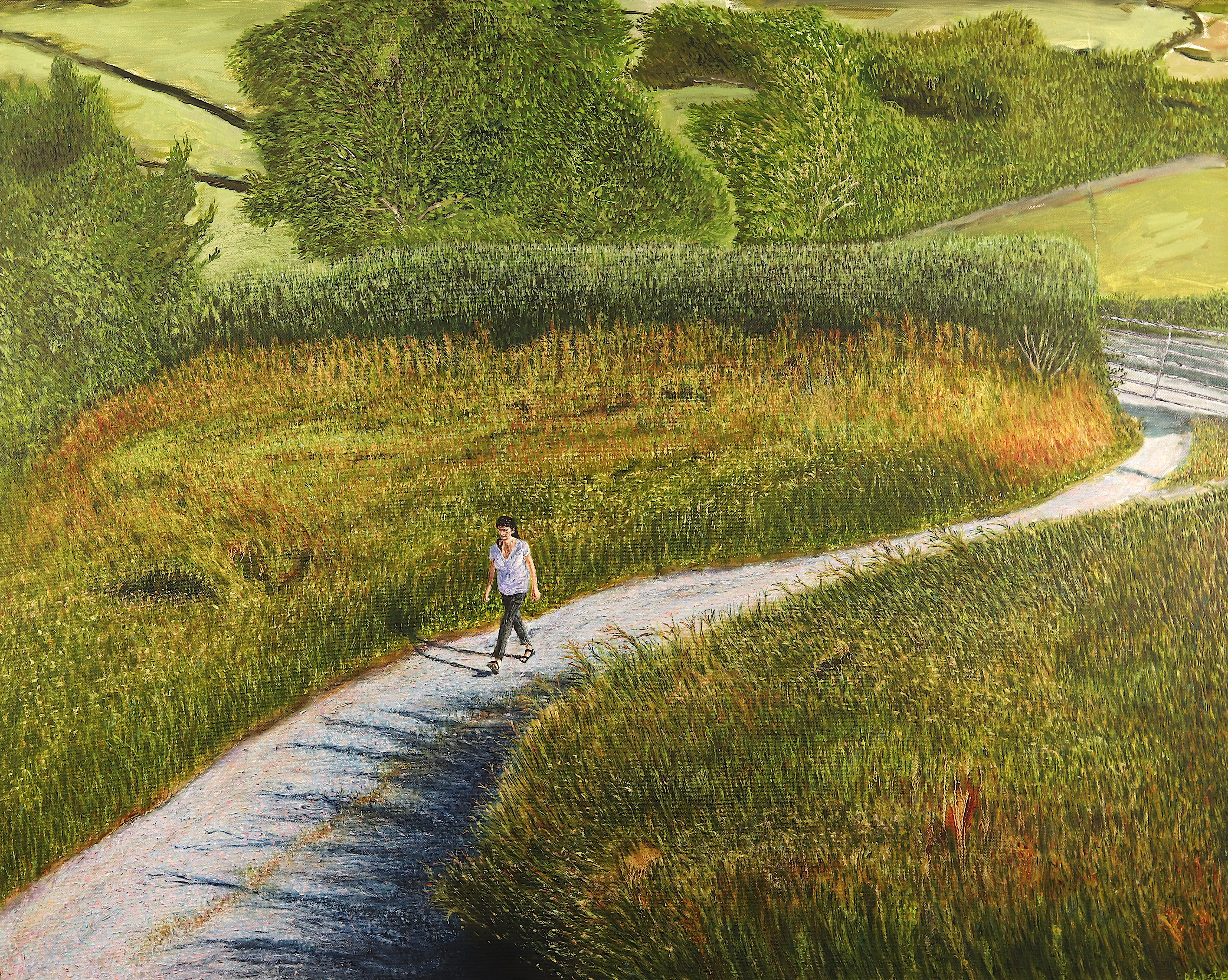 Summer, oil on canvas, 80 x 100 cm
